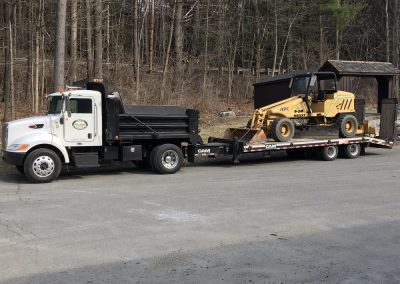 Williams-Paving-Truck-Towing-Tractor