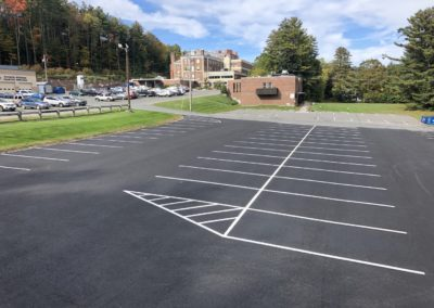Fairview Hospital Parking Lot