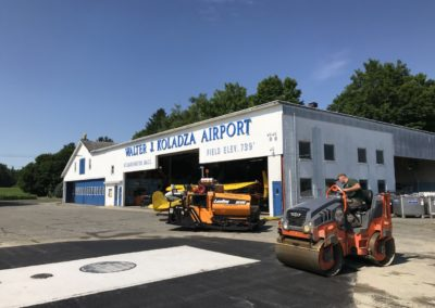 Local Airport Getting Paved