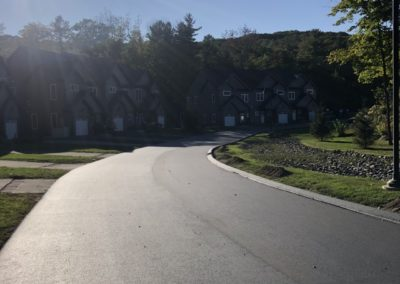 Roadway Paving with Curbing